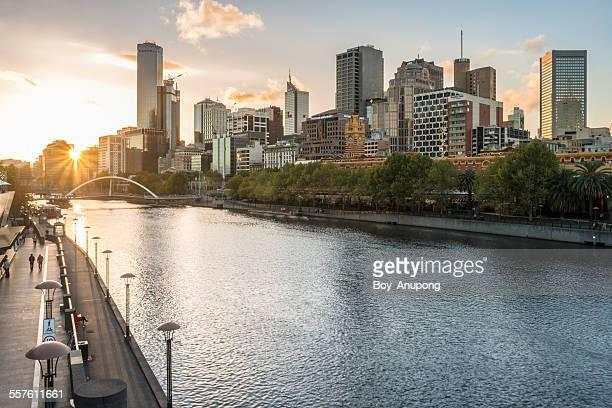 melbourne city, australia. - melbourne austrália - fotografias e filmes do acervo
