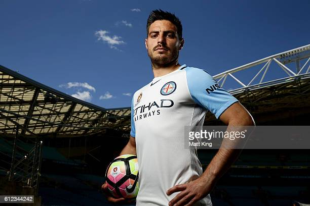 Melbourne City captain Bruno Fornaroli poses during the 2016/17 ALeague Season Launch at ANZ Stadium on October 4 2016 in Sydney Australia