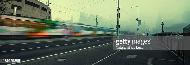 Melbourne city from Princes bridge