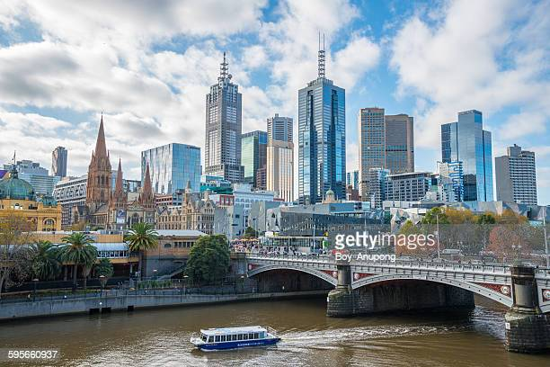Melbourne city in the Autumn season, Australia