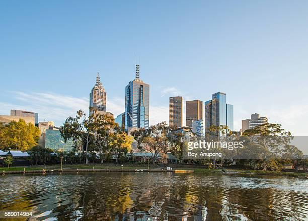 Melbourne city of Australia.