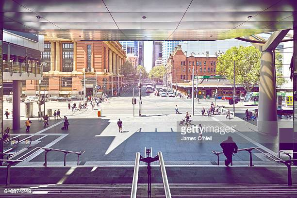melbourne city - melbourne australia stock pictures, royalty-free photos & images