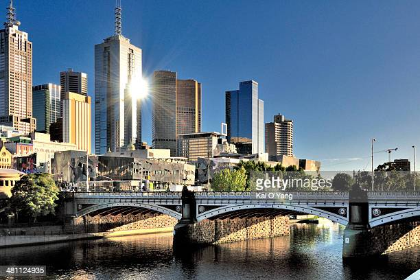 Melbourne City view