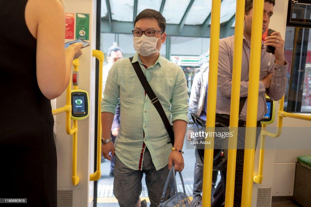 Melbourne Suffers Hazardous Air Quality As Bushfire Smoke Blankets City : News Photo