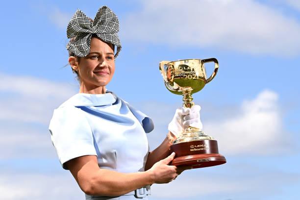 AUS: 2021 Melbourne Cup Carnival Launch