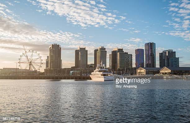 Melbourne dockland waterfront, Australia