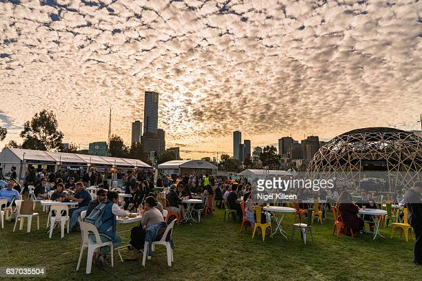 Melbourne Noodle Night Market,