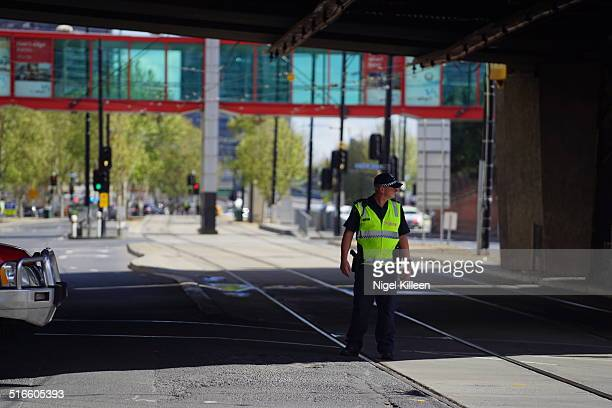 Melbourne Police block areas around Flinders Street and Melbourne Docklands as suspicious package discovered Police in high alert after terrorist...