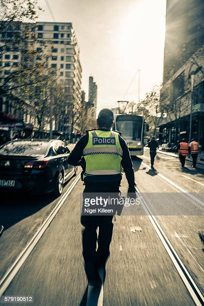 Melbourne Police officer