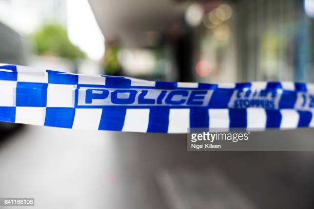 Melbourne Police Tape