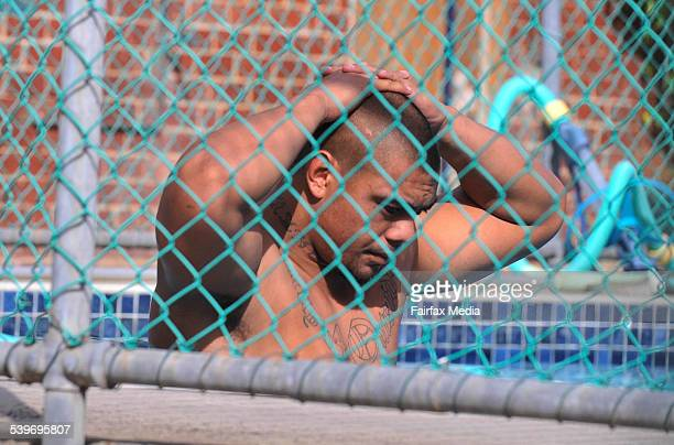 Melbourne Storm player Sika Manu during the recovery session at Princess Park following the team's victory over the Warriors the day before