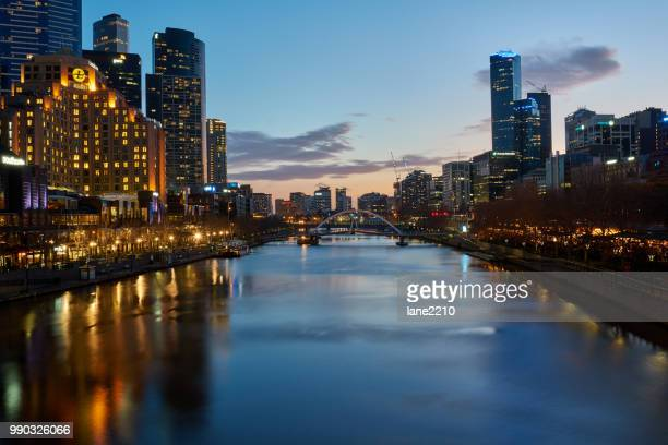 melbourne sunset - democratic republic of the congo ストックフォトと画像