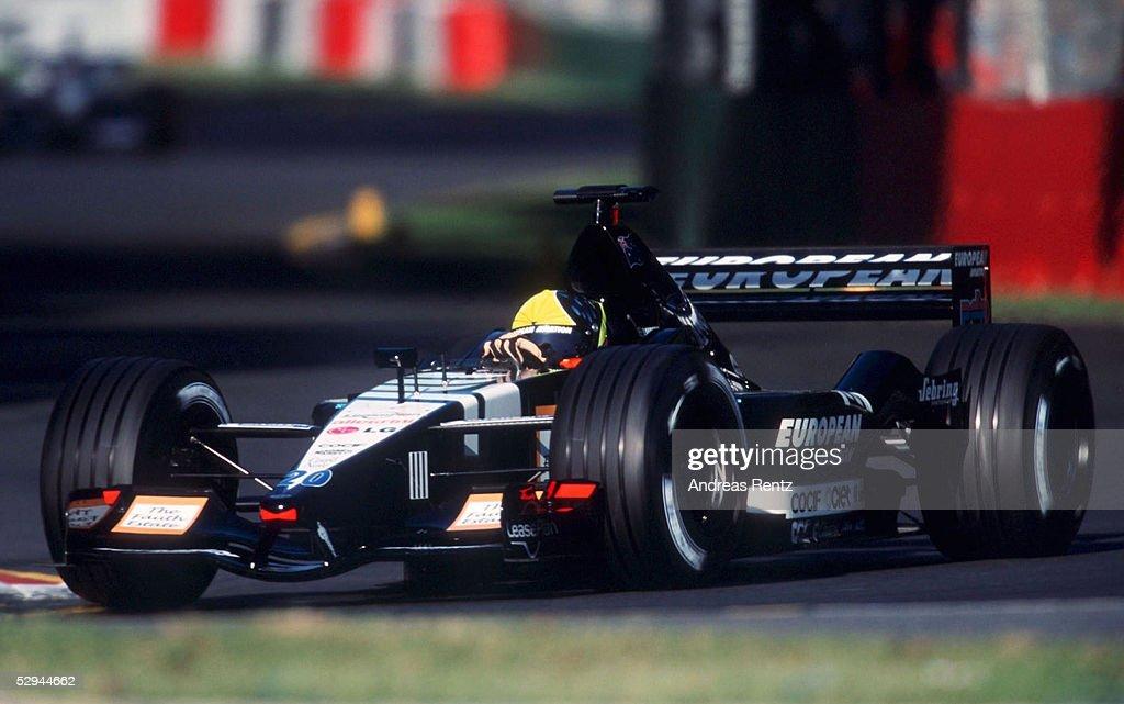 MOTORSPORT/FORMEL 1: GP VON AUSTRALIEN 2001 : News Photo