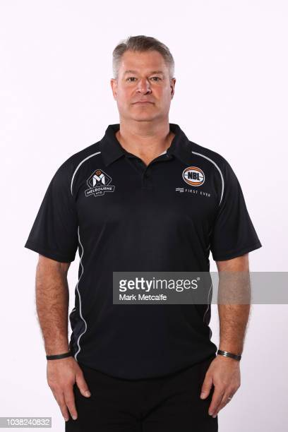 Melbourne United head coach Dean Vickerman poses during the 2018/19 NBL media day at Bendigo Stadium on September 21 2018 in Bendigo Australia
