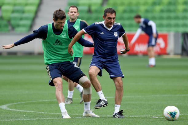 AUS: Melbourne Victory Training Session & Media Opportunity