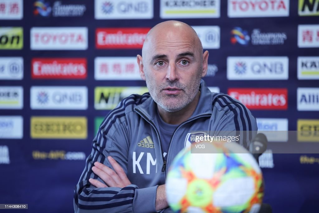 AUS: Melbourne Victory Press Conference And Training Session