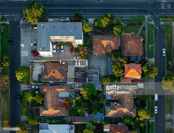 melbourne's suburbs - real estate developer stock pictures, royalty-free photos & images