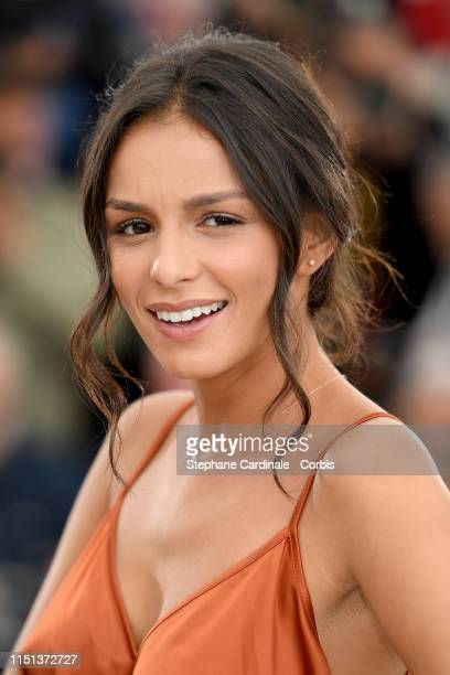 Meleinda Elasfour attends thephotocall for Mektoub My Love Intermezzo during the 72nd annual Cannes Film Festival on May 24 2019 in Cannes France