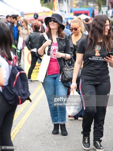 Meli Alexander is seen on June 17 2018 in Los Angeles California