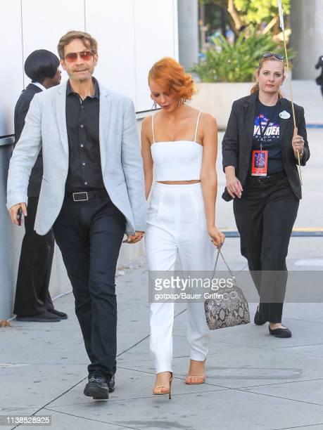 Melia Kreiling is seen on April 22 2019 in Los Angeles California