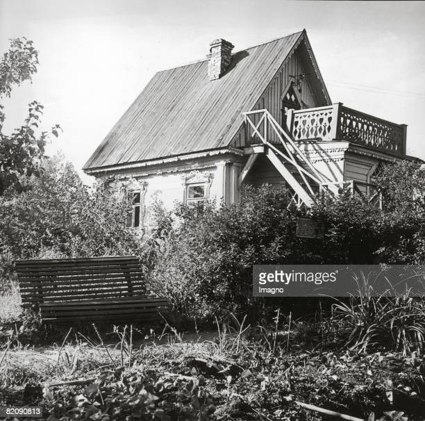 Melichowo This house in an outlying district of Moscow bought Anton Tschechov in 1892 Here he wrote the gull and a some of his other plays Russia...