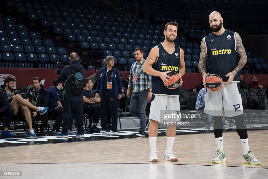 Fenerbahce Istanbul Practice - 2017 Turkish Airlines EuroLeague Final Four