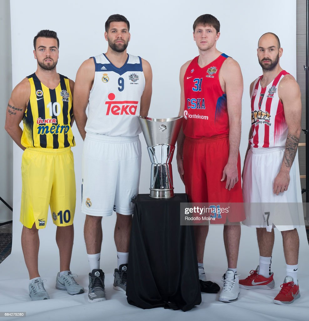 2017 Teams Captains Photo Opportunity - 2017 Turkish Airlines EuroLeague Final Four