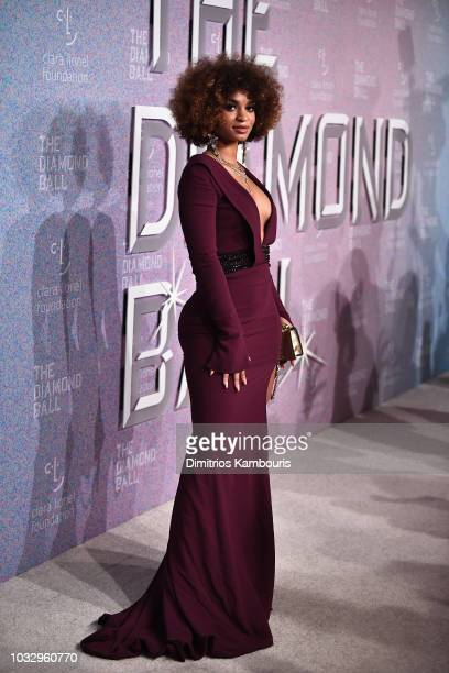 Melii attends Rihanna's 4th Annual Diamond Ball benefitting The Clara Lionel Foundation at Cipriani Wall Street on September 13 2018 in New York City