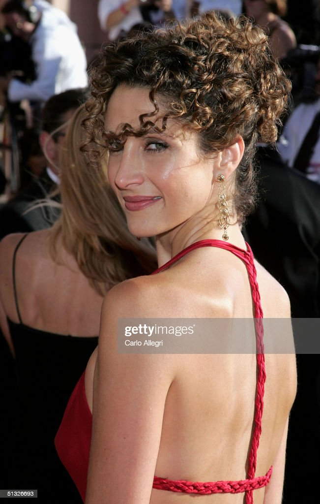 Melina Kanakaredes arrives at the 56th Annual Primetime Emmy Awards at the Shrine Auditorium September 19, 2004 in Los Angeles, California.