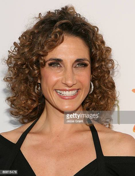 Melina Kanakaredes arrives at the 8th Annual Comedy for a Cure at Boulevard3 on April 5 2009 in Hollywood California