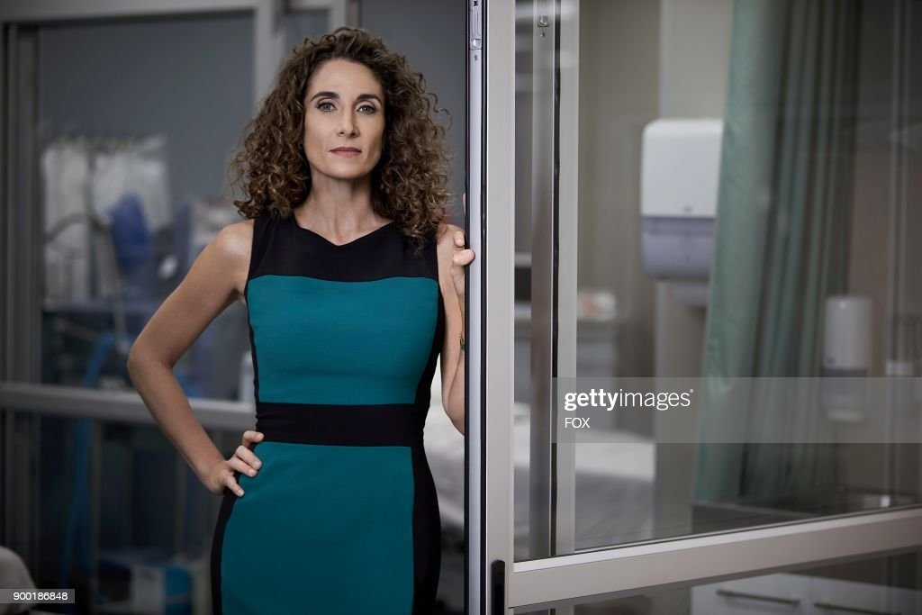 Melina Kanakaredes as Dr. Lane Hunter in THE RESIDENT premiering Sunday, Jan. 21 (10:00-11:00 PM ET/7:00-8:00 PM PT), following the NFC CHAMPIONSHIP GAME, and makes its time period premiere on Monday, Jan. 22 (9:00-10:00 PM ET/PT).on FOX.