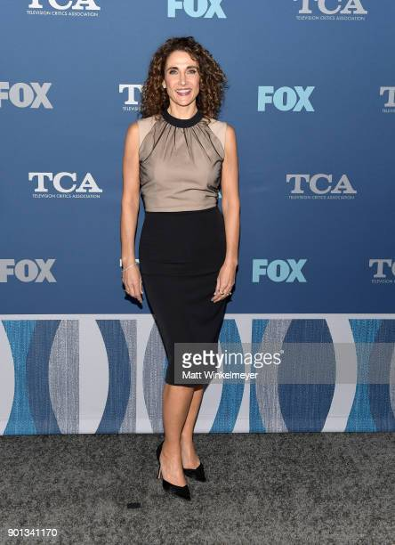 Melina Kanakaredes attends the FOX AllStar Party during the 2018 Winter TCA Tour at The Langham Huntington Pasadena on January 4 2018 in Pasadena...