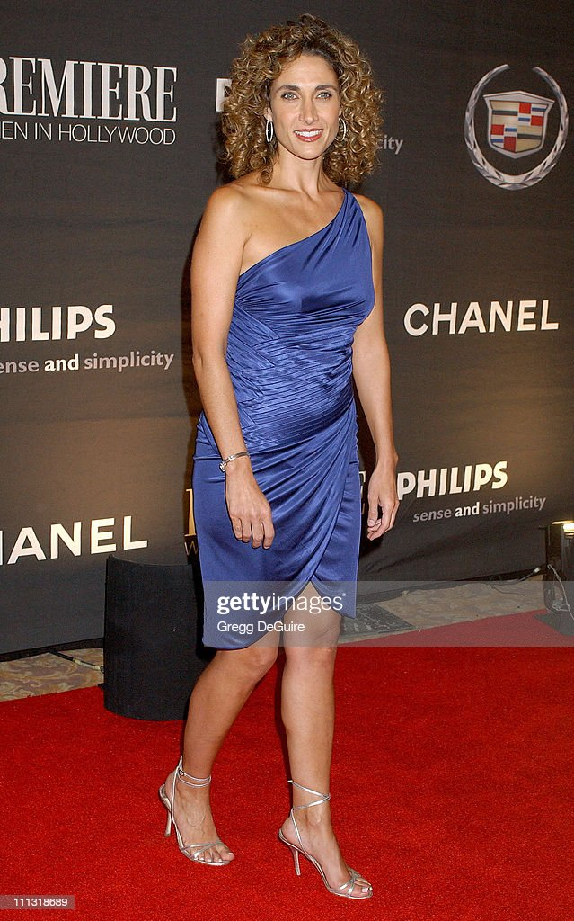 Melina Kanakaredes during 13th Annual Premiere Women in Hollywood - Arrivals at Beverly Hills Hotel in Beverly Hills, California, United States.
