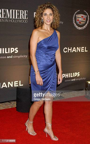 Melina Kanakaredes during 13th Annual Premiere Women in Hollywood Arrivals at Beverly Hills Hotel in Beverly Hills California United States