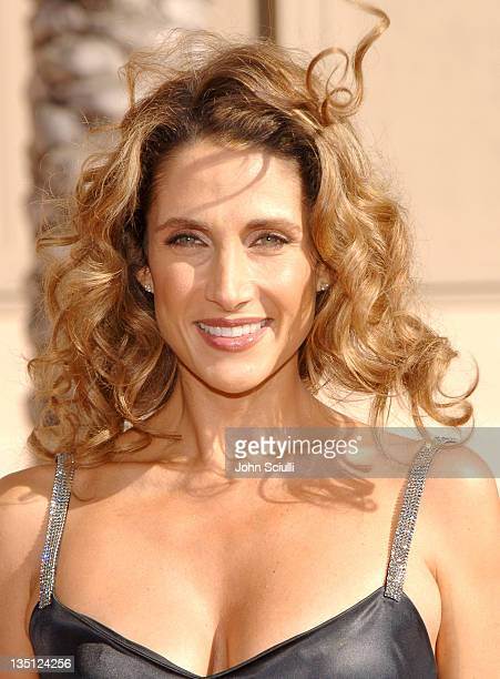 Melina Kanakaredes during 58th Annual Creative Arts Emmy Awards Arrivals at Shrine Auditorium in Los Angeles California United States