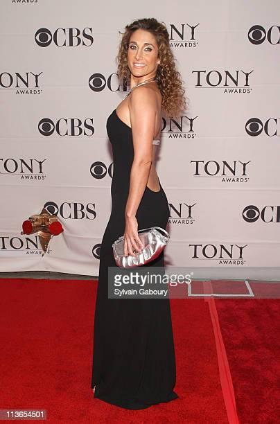 Melina Kanakaredes during 61st Annual Tony Awards Arrivals at Radio City Music Hall in New York City New York United States