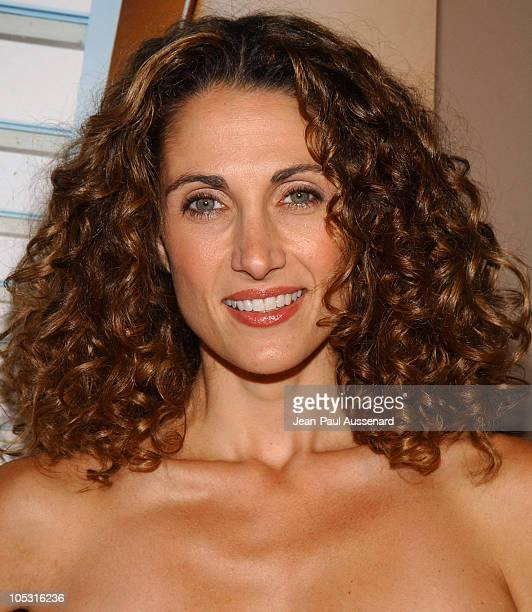Melina Kanakaredes during Conde Nast Traveler Hot Nights Los Angeles Arrivals at Spider Club in Hollywood California United States