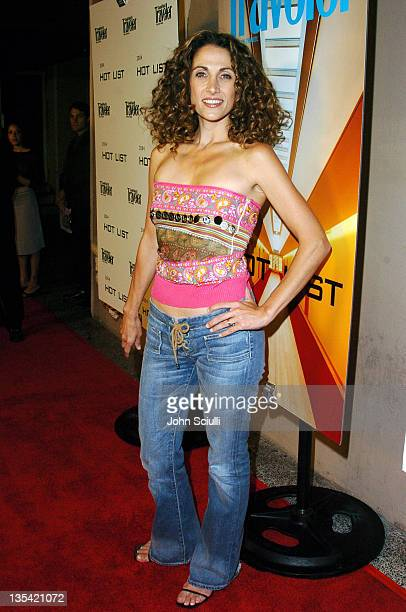 Melina Kanakaredes during Conde Nast Traveler Hot Nights Los Angeles Red Carpet at Spider Club in Hollywood California United States