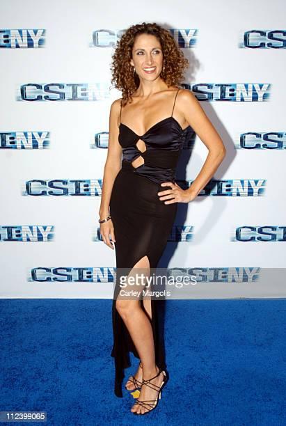Melina Kanakaredes during CSI NY New York Premiere at Ed Sullivan Theater in New York City New York United States