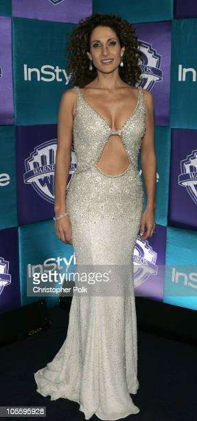 Melina Kanakaredes during Instyle/Warner Bros Golden Globe Awards Post Party Arrivals at Beverly Hills Hilton in Beverly Hills California United...