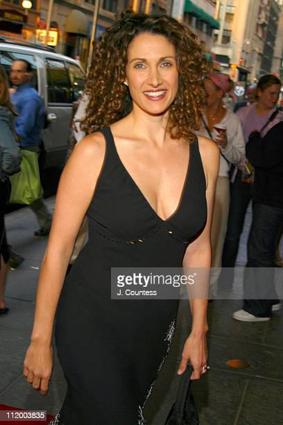 Melina Kanakaredes during Jon Secada Returns to Broadway as the New Emcee in Cabaret at Studio 54 in New York City New York United States