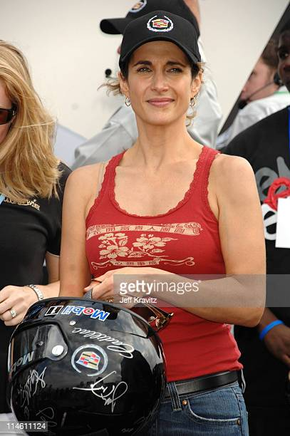 Melina Kanakaredes during The 5th Annual Cadillac Super Bowl Grand Prix at American Airlines Arena in Miami Beach Florida United States