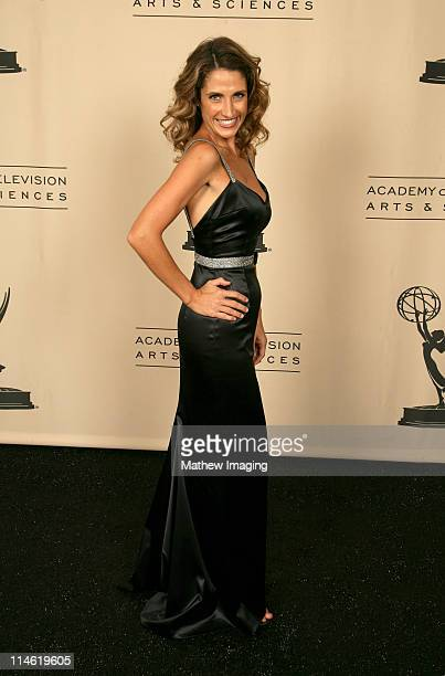 Melina Kanakaredes presenter during 58th Annual Creative Arts Emmy Awards Photo Gallery at The Shrine Auditorium in Los Angeles California United...