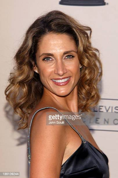 Melina Kanakaredes presenter during 58th Annual Creative Arts Emmy Awards Press Room at Shrine Auditorium in Los Angeles California United States