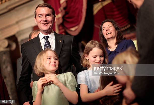 WASHINGTON DC Melina Mara 206029 CAPTION Michael Bennet was sworn in by Vice President Joe Biden as the junior Senator from Colorado to replace...