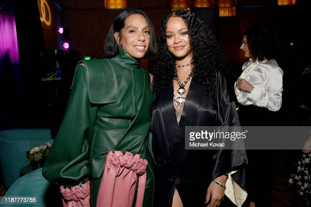 Melina Matsoukas and Rihanna attend the Queen Slim Premiere at AFI FEST 2019 presented by Audi at the TCL Chinese Theatre on November 14 2019 in...