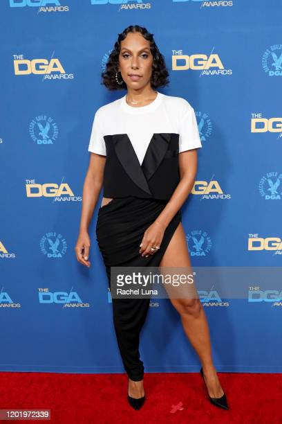 Melina Matsoukas arrives for the 72nd Annual Directors Guild Of America Awards at The Ritz Carlton on January 25 2020 in Los Angeles California