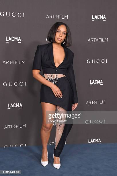 Melina Matsoukas attends the 2019 LACMA Art Film Gala Presented By Gucci at LACMA on November 02 2019 in Los Angeles California