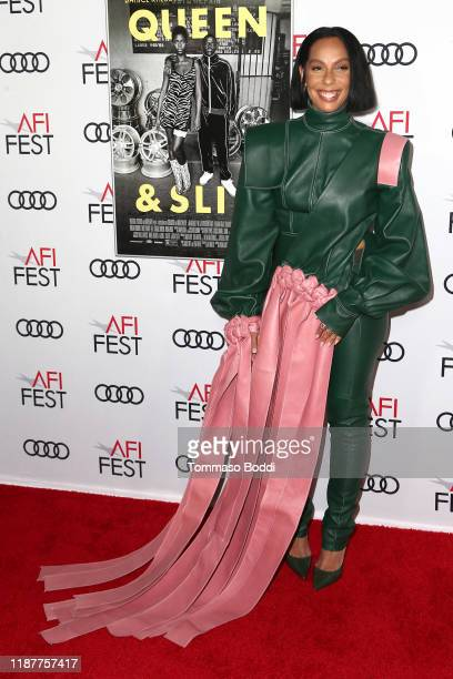 Melina Matsoukas attends the AFI FEST 2019 Presented By Audi premiere of Queen Slim at TCL Chinese Theatre on November 14 2019 in Hollywood California