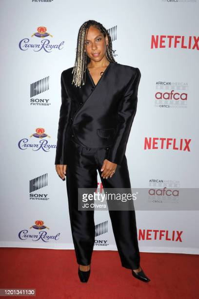 Melina Matsoukas attends The African American Film Critics Association's 11th Annual AAFCA Awards at Taglyan Cultural Complex on January 22 2020 in...